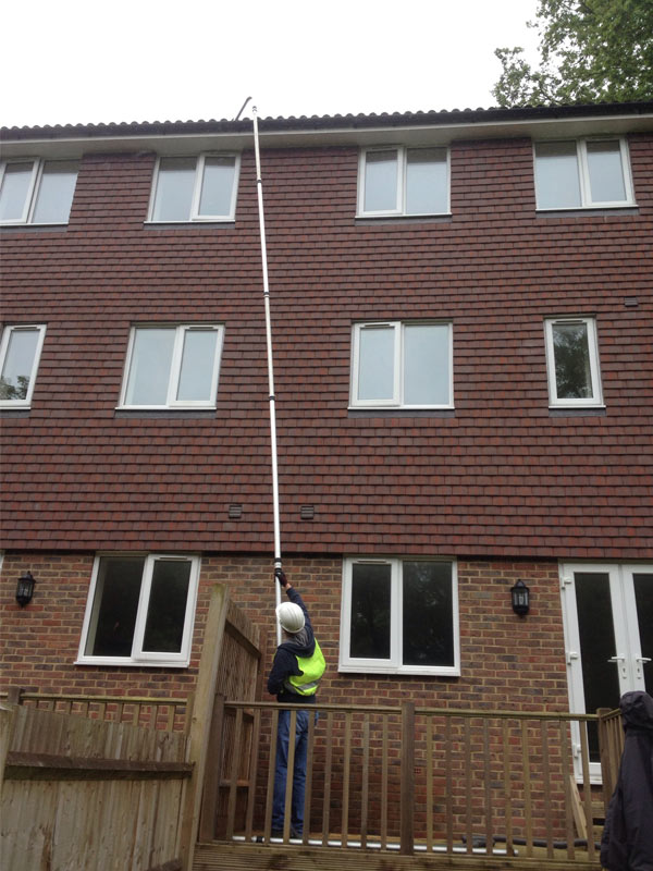 Gutter Clearance Eco Clean Sussex